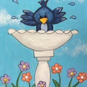 bath time painting